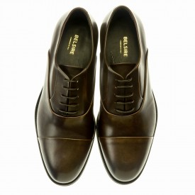 Ginetto - Dark brown Leather - Rubber Sole