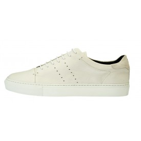 Andy - White deer leather