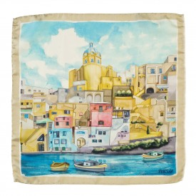 Procida Pocket Square
