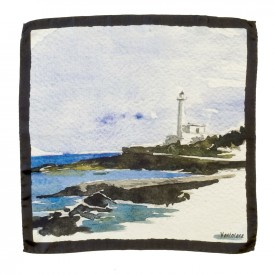 Ventotene Pocket Square