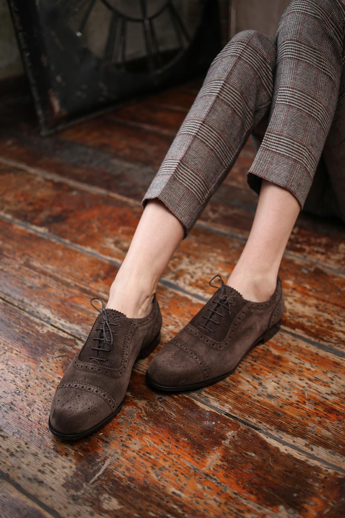 scarpe oxford donna
